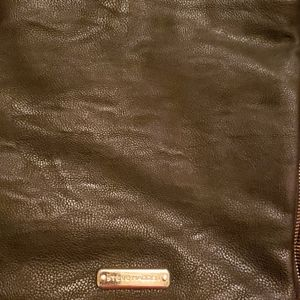 Steve Madden purse black and gold